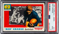 Football Cards:Singles (1950-1959), 1955 Topps Red Grange #27 PSA Mint 9 - Only One Higher....