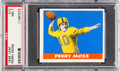 Football Cards:Singles (Pre-1950), 1948 Leaf Perry Moss #10 PSA NM 7....