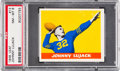 Football Cards:Singles (Pre-1950), 1948 Leaf Johnny Lujack #13 PSA NM-MT 8 - None Higher. ...
