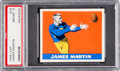 Football Cards:Singles (Pre-1950), 1948 Leaf James Martin #24 PSA NM-MT 8 - Just OnlyHigher....