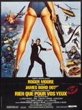 """Movie Posters:James Bond, For Your Eyes Only (United Artists, 1981). French Grande (46"""" X 62"""") Brian Bysouth Artwork. James Bond.. ..."""