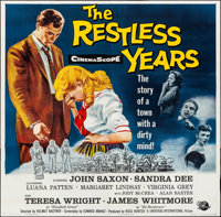 "The Restless Years (Universal International, 1958). Six Sheet (79"" X 79""). Drama"