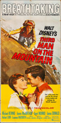 "Movie Posters:Adventure, Third Man on the Mountain & Other Lot (Buena Vista, 1959). Three Sheets (2) (42"" X 84"" & 41"" X 84""). Adventure.. ... (Total: 2 Items)"