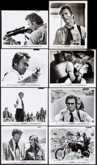 "The Gauntlet (Warner Bros., 1977). Very Fine-. Photos (14) (8"" X 10""). Action. ... (Total: 14 Items)"