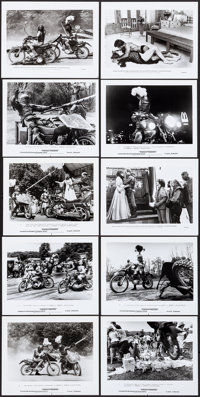 "Knightriders (United Artists, 1981). Behind-the-scenes Photos (4) & Photos (23) (8"" X 10"" & 8"" X..."