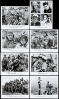 "Movie Posters:Academy Award Winners, Platoon (Orion, 1986). Photos (8) (8"" X 10""). Academy AwardWinners.. ... (Total: 8 Items)"