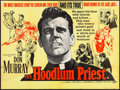 "Movie Posters:Drama, The Hoodlum Priest & Other Lot (United Artists, 1961). BritishQuad (30"" X 40"") & Three Sheet (41"" X 79""). Drama.. ... (Total:2 Items)"
