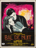"Movie Posters:Foreign, Night Dance Hall (Comptoir Francais, 1959). French Grande (46.25"" X 62"") Guy Gerard Noel Artwork. Foreign.. ..."