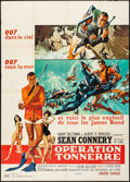 "Movie Posters:James Bond, Thunderball (United Artists, 1965). French Grande (46.5"" X 63"") Frank McCarthy and Robert McGinnis Artwork. James Bond.. ..."