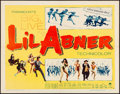 """Movie Posters:Musical, Li'l Abner (Paramount, 1959). Half Sheet (22"""" X 28"""") Style A. Musical.. ..."""