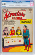 Silver Age (1956-1969):Superhero, Adventure Comics #247 (DC, 1958) CGC VG 4.0 Off-white pages....