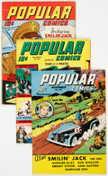 Golden Age (1938-1955):Miscellaneous, Popular Comics Group of 21 (Dell, 1942-48) Condition: Average GD.... (Total: 21 Comic Books)