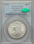Bust Half Dollars, 1832 50C Small Letters, O-118, R.1, AU58 PCGS. CAC. PCGSPopulation: (8/3). NGC Census: (11/5). AU58. Mintage 4,797,000. ...