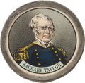 Political:Ribbons & Badges, Zachary Taylor: Pewter Rim Medallion in Excellent Condition....