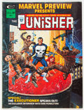 Magazines:Superhero, Marvel Preview #2 The Punisher (Marvel, 1975) Condition: VF/NM....