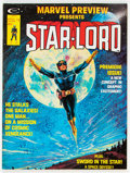 Magazines:Science-Fiction, Marvel Preview #4 Star-Lord (Marvel, 1976) Condition: VF....