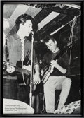 Music Memorabilia:Photos, Beatles - Copy of the First Photograph Ever Published of Paul and John....