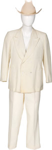 Movie/TV Memorabilia:Costumes, Colonel Harland Sanders Personally Owned and Worn Suit and Hat(1979-1980).... (Total: 2 Items)
