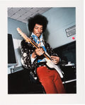 Music Memorabilia:Photos, Jimi Hendrix Limited Edition Color Photo by Bruce Fleming (1967)....