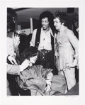 Music Memorabilia:Photos, Jimi Hendrix, Noel Redding and Mitch Miller Limited Edition Black and White Photo by Bruce Fleming (1967)....