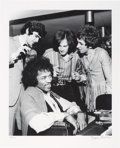 Music Memorabilia:Photos, The Jimi Hendrix Experience Limited Edition Black and White Photo by Bruce Fleming (1967)....
