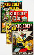 Bronze Age (1970-1979):Western, Kid Colt Outlaw Group of 48 (Marvel, 1969-79) Condition: Average FN.... (Total: 48 Comic Books)