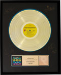 Music Memorabilia:Awards, Rolling Stones Some Girls RIAA Hologram Gold Sales AwardPresented to the Artist (Rolling Stones COC 39108, 1978)....