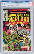 Bronze Age (1970-1979):Science Fiction, John Carter, Warlord of Mars #1 (Marvel, 1977) CGC NM/MT 9.8 White pages....