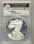 Modern Bullion Coins, Five-Piece 2011 25th Anniversary Silver American Eagle Set, PCGS. All coins are in First Strike holders bearing the signatur... (Total: 5 coins)