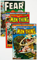 Bronze Age (1970-1979):Horror, Fear #1-31 Complete Series Group (Marvel, 1970-75) Condition:Average FN.... (Total: 31 Comic Books)