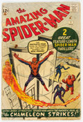 Silver Age (1956-1969):Superhero, The Amazing Spider-Man #1 (Marvel, 1963) Condition: FR....