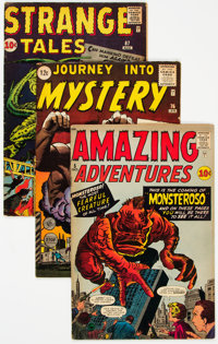 Comic Books - Assorted Silver Age Science Fiction Comics Group of 11 (Various Publishers, 1960s) Condition: Average VG...