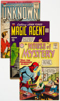 Silver Age (1956-1969):Science Fiction, Comic Books - Assorted Silver Age Science Fiction Comics Group of 9 (Various Publishers, 1950s-60s) Condition: Average VG.... (Total: 9 Comic Books)