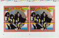 Music Memorabilia:Posters, KISS Hotter than Hell Pair of Cover Art/Calendar Proofs (1974)....