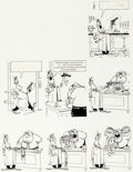 Original Comic Art:Panel Pages, Don Martin The Inventor at the Novelty Company, MAD#79 Original Art (EC, 1963)....