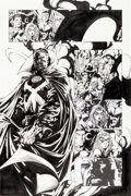 Original Comic Art:Panel Pages, David Finch and Danny Miki The Avengers #503 Doctor StrangePage 10 Original Art (Marvel, ...