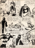 Original Comic Art:Panel Pages, Reg Greenwood Sparkler Comics #1 Story Page 2 Original Art(United Features, 1941). ...