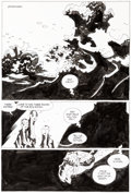 Original Comic Art:Panel Pages, Mike Mignola Hellboy: The Third Wish