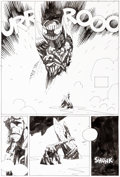 Original Comic Art:Panel Pages, Mike Mignola Hellboy: The Island #2 Story Page 25 OriginalArt (Dark Horse, 2005)......