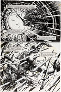 Original Comic Art:Panel Pages, Barry Windsor-Smith Giant Size Rune #1 Story Page 6 OriginalArt (Malibu, 1995)....