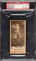 Baseball Cards:Singles (Pre-1930), 1928 Babe Ruth Candy Co. Babe Ruth #2 PSA EX-MT 6. ...