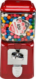 Music Memorabilia:Memorabilia, Beatles Bubble Gum Machine with Buttons and More....