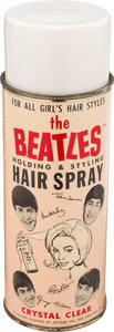 Music Memorabilia:Memorabilia, Beatles Vintage Hair Spray by Bronson Products (NEMS Seltaeb,1964)....