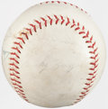 Autographs:Baseballs, 1963-64 Pittsburgh Pirates Team Signed Baseball (15+ Signatures)with Roberto Clemente....
