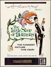 """The Little Shop of Horrors (Filmgroup, 1960). Poster (30"""" X 40""""). Comedy"""