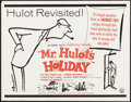 "Movie Posters:Foreign, Mr. Hulot's Holiday (Continental, R-1960s). Rolled, Very Fine-. Half Sheet (22"" X 28""). Abe Birnbaum Artwork. Foreign.. ..."