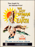 """Movie Posters:Science Fiction, The Last Woman on Earth (Flimgroup, 1960). Poster (30"""" X 40"""") Albert Kallis Artwork. Science Fiction.. ..."""