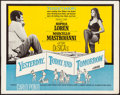 """Movie Posters:Foreign, Yesterday, Today and Tomorrow & Other Lot (Embassy, 1964). Half Sheets (2) (22"""" X 28""""). Foreign.. ... (Total: 2 Items)"""