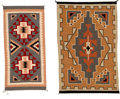 Textiles, Two Navajo Regional Rugs... (Total: 2 Items)
