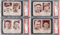 Baseball Cards:Lots, 1941 Double Play PSA-Graded Quartet (4). ... (Total: 4 items)